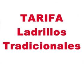Tarifa Ladrillos
