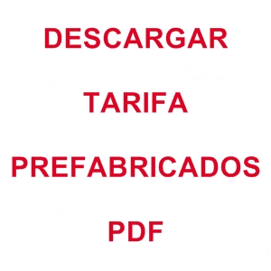 Descargar PDF Tarifa