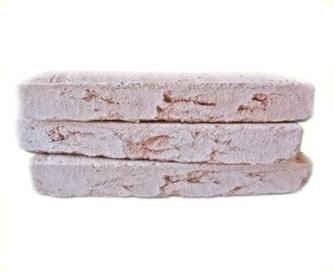Ladrillo r stico materiales construcci n - Ladrillo rustico blanco ...