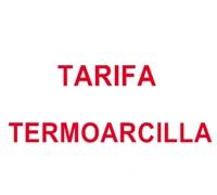 Tarifa Termoarcilla